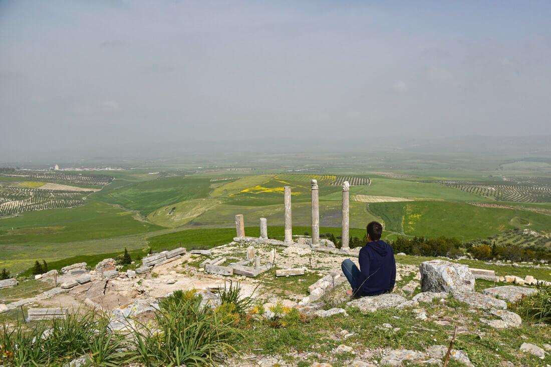 Dougga ruins Tunisia