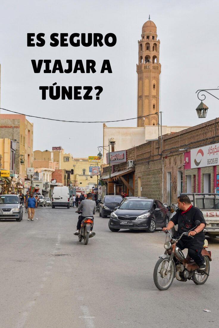 es peligroso viajar a Túnez