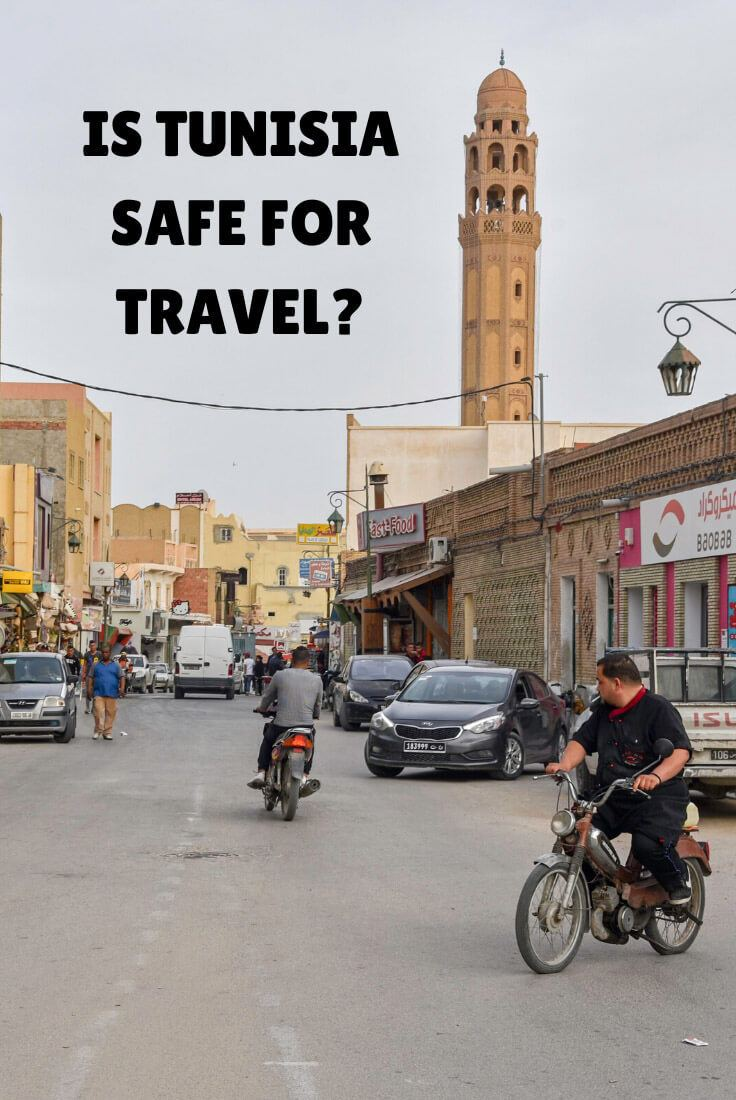 is it safe to travel to Tunisia
