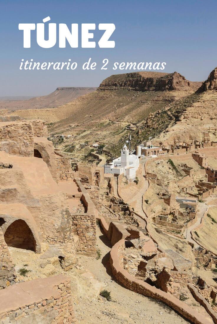 itinerario Túnez