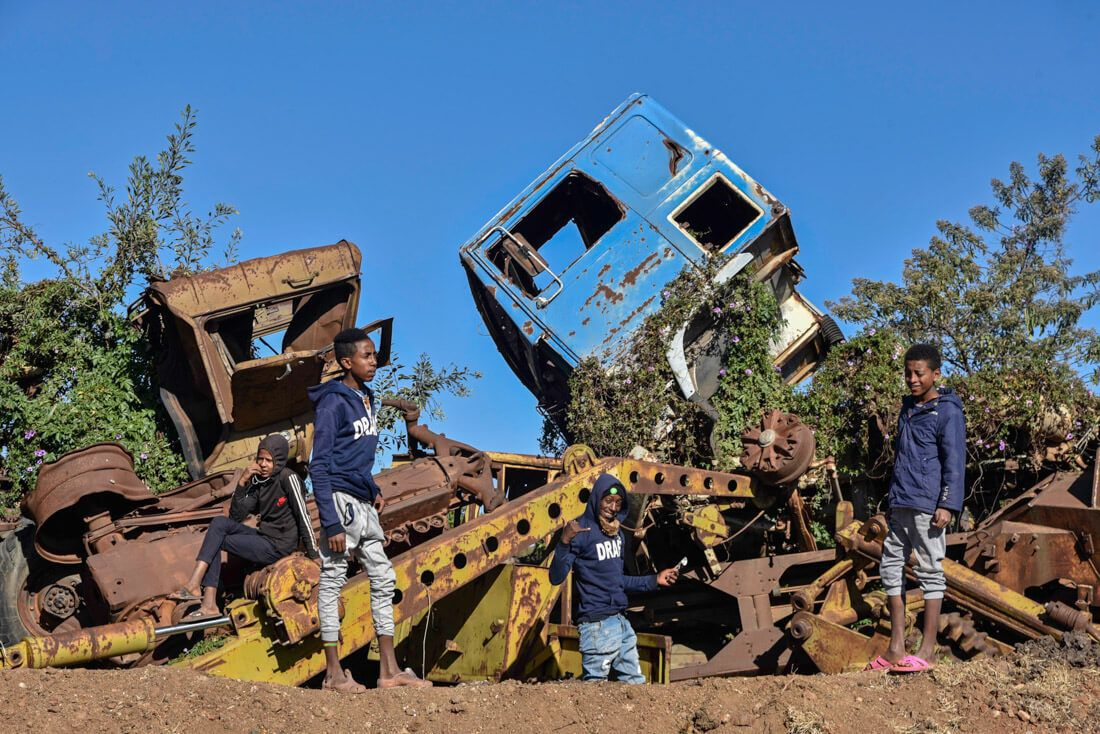 cementerio de tanques Asmara