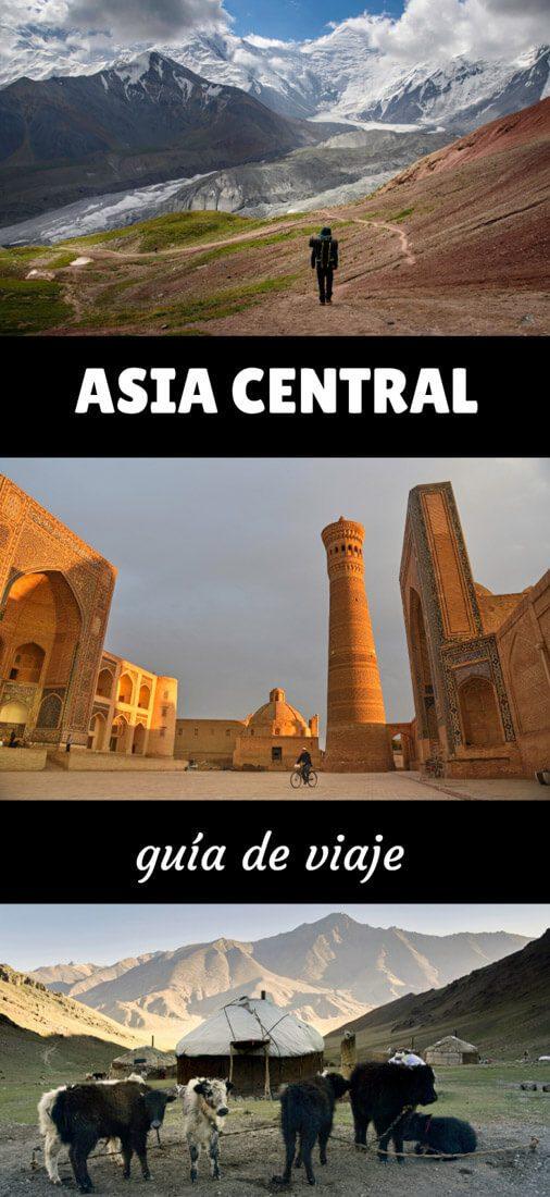 guía de viaje a Asia Central