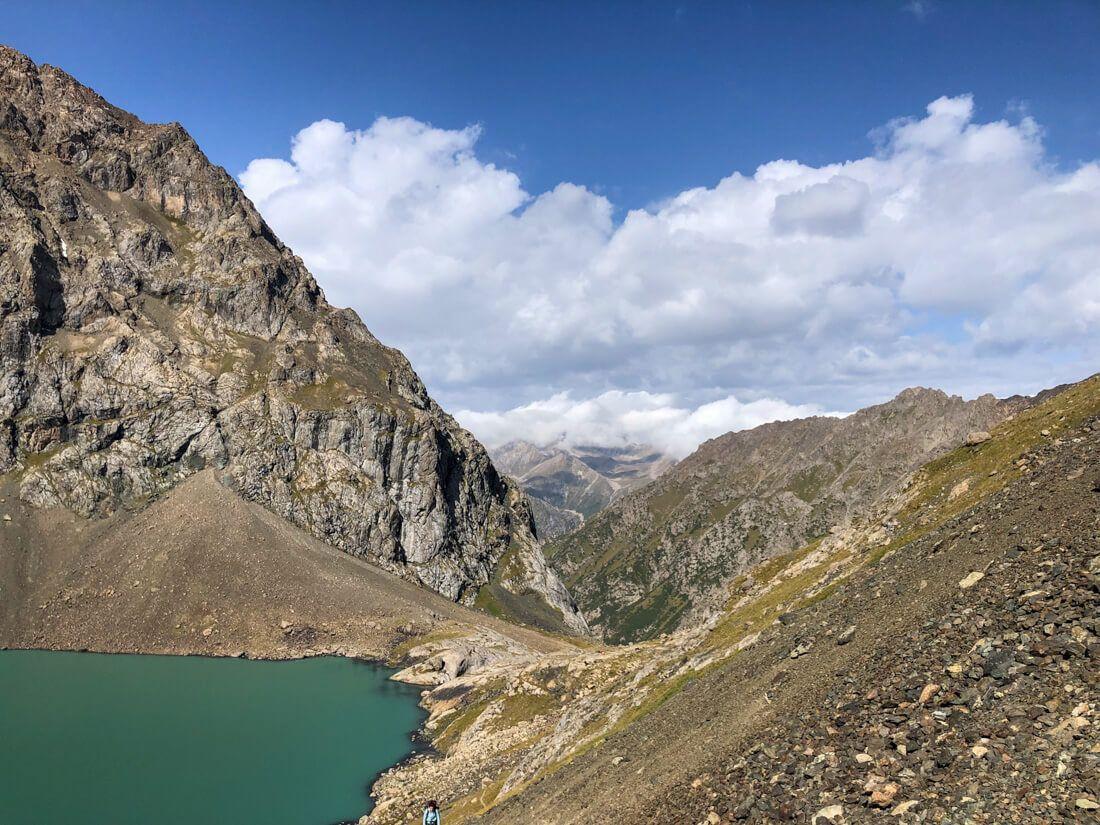 trek ala kul kyrgyzstan