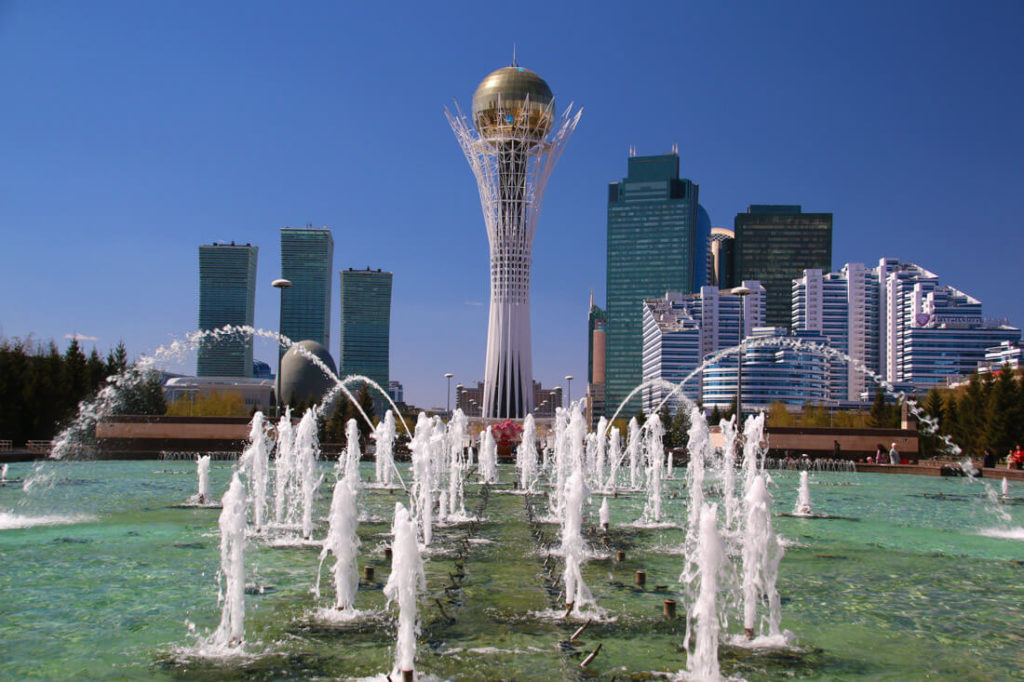 travel to Astana
