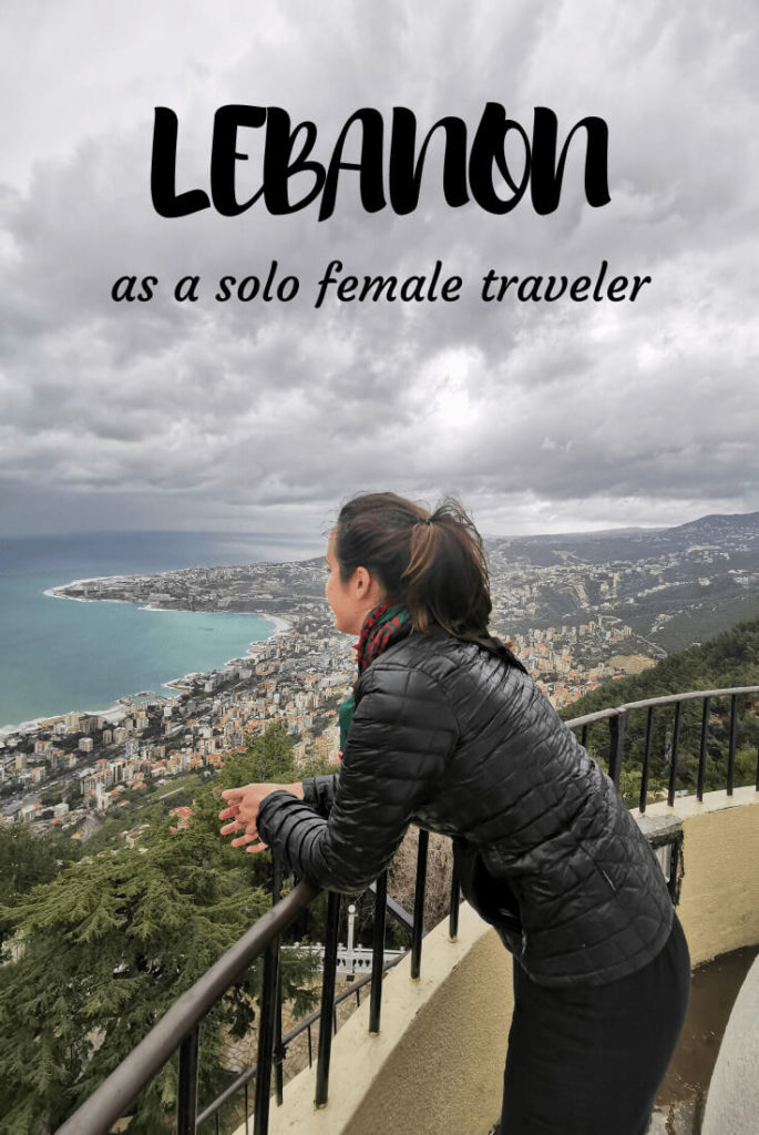 Lebanon solo female traveler