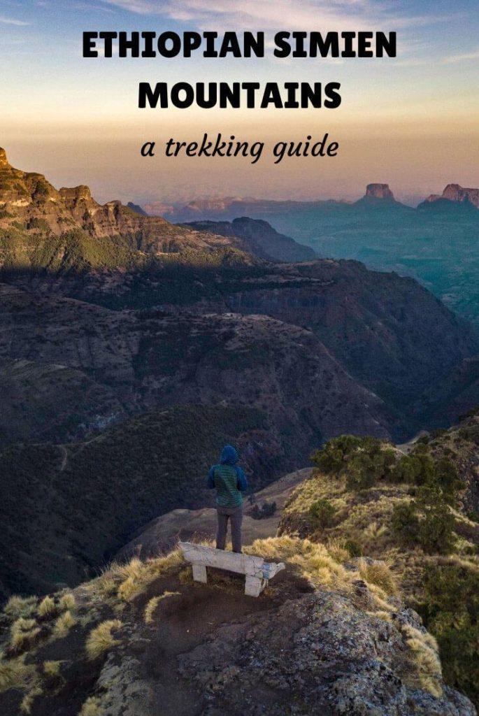 trekking Simien Mountains