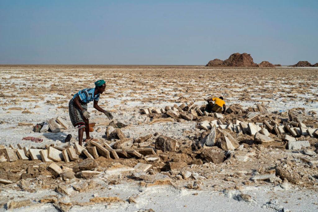 salt mines Danakil