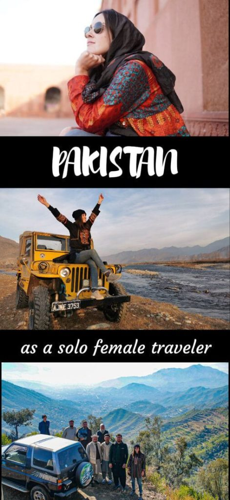 solo women travel pakistan