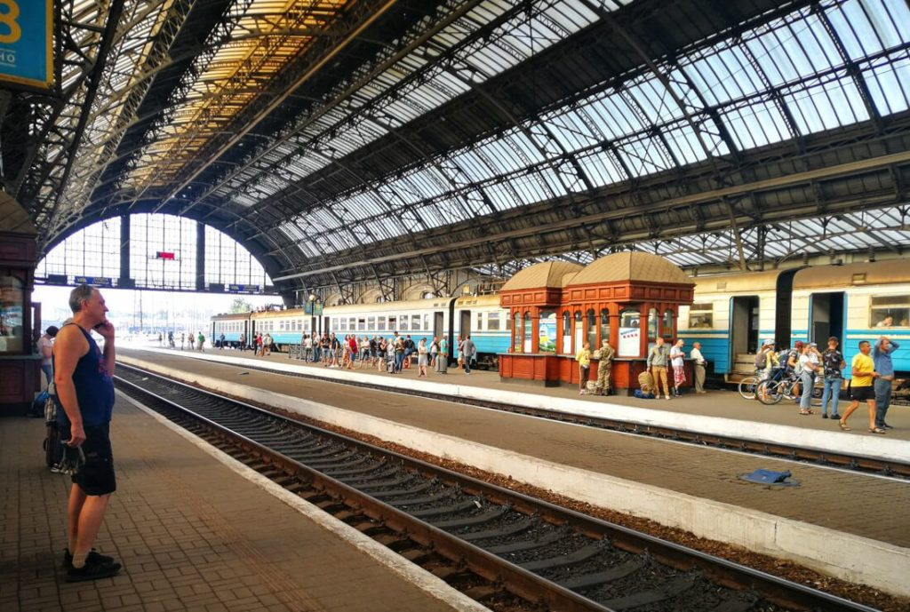 estación tren de Lviv