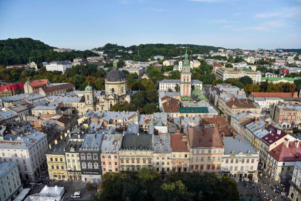 viajar a Lviv