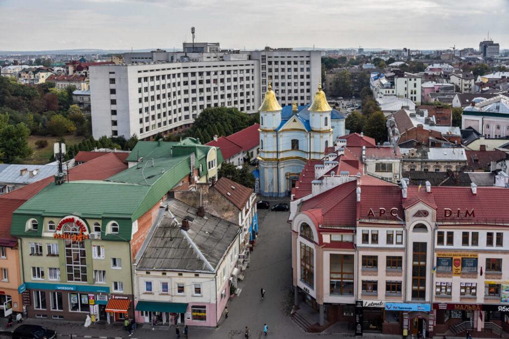 itinerario Ucrania