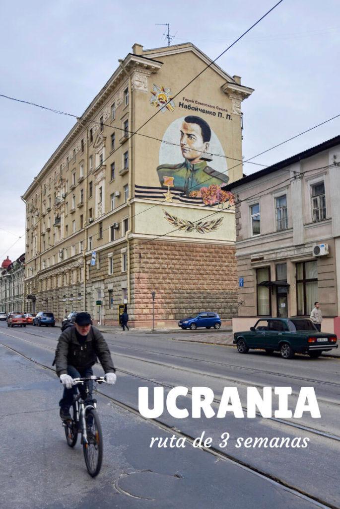 ruta por Ucrania