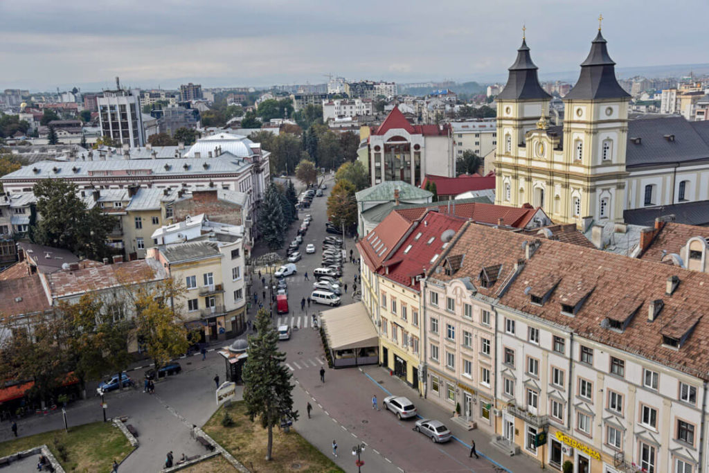 qué ver en Ivano Frankivsk