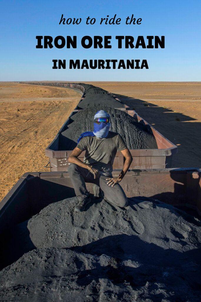 Mauritania Iron Ore Train Tips