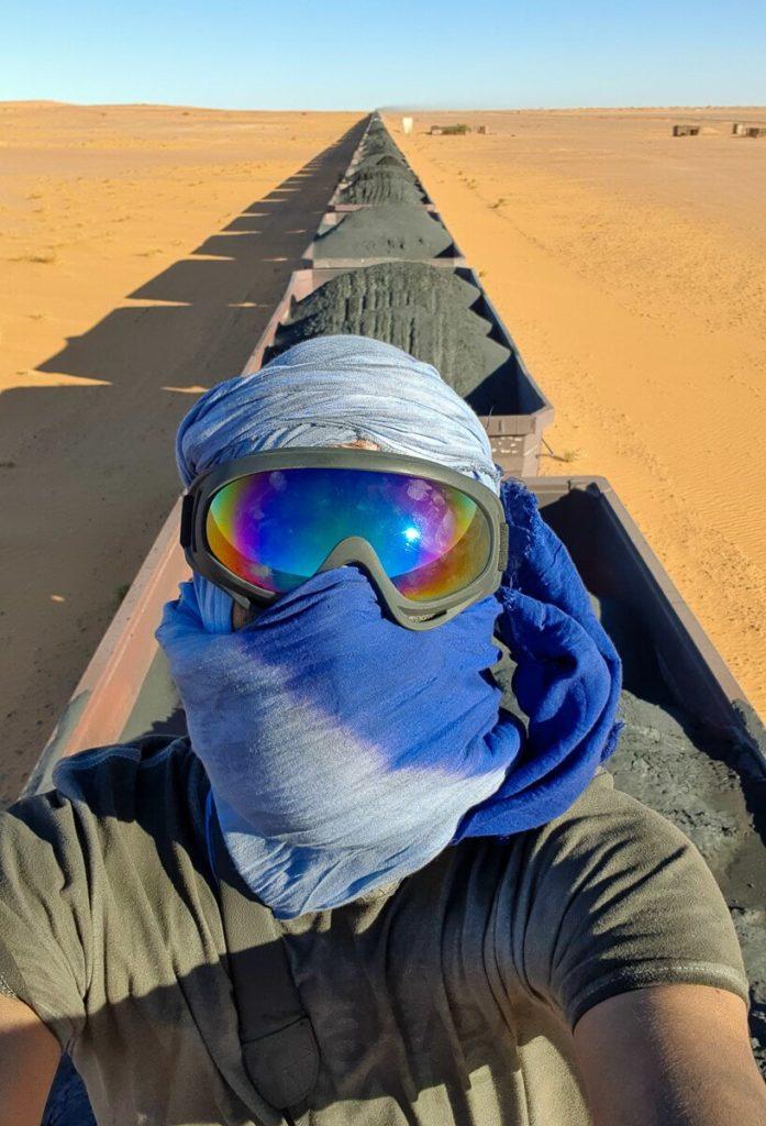 Iron train Mauritania