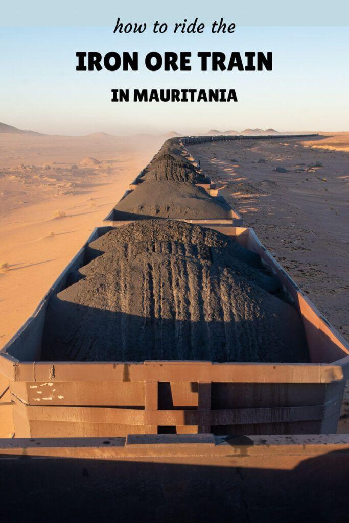 how to ride the Iron Ore Train in Mauritania