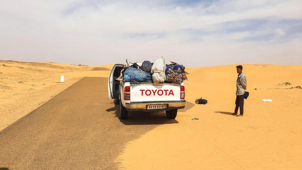 roads in Mauritania