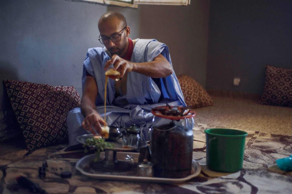 té en Mauritania