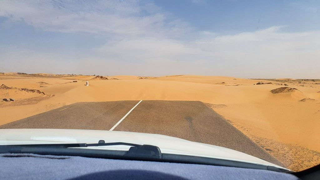 conducir en Mauritania es seguro