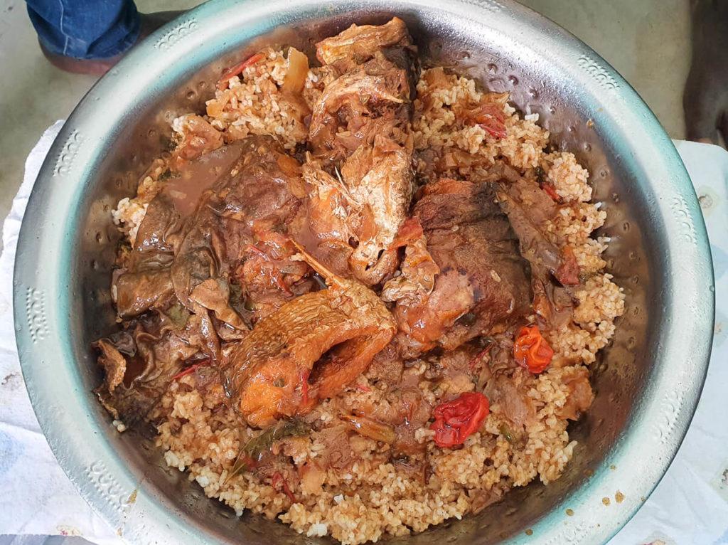 cocina en Mali