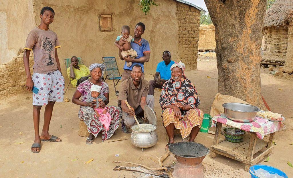 Gente de etnia Bambara en Mali