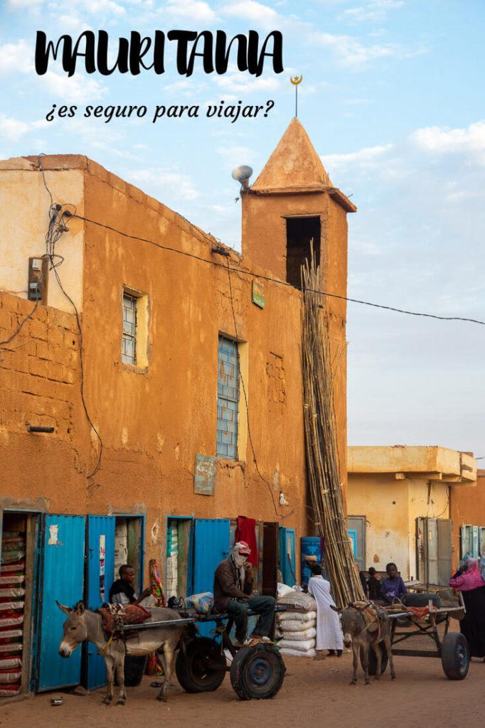 Es seguro visitar Mauritania