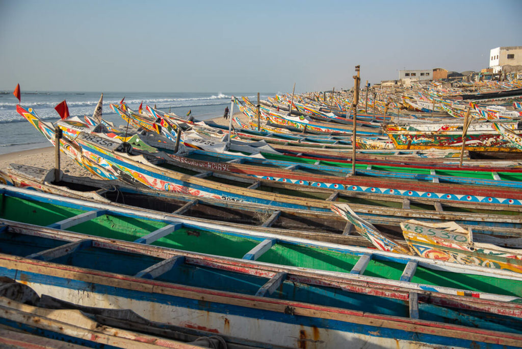 puerto de pesca de Nuakchot