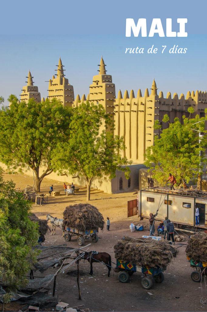 itinerario por Mali