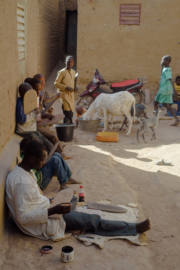 Ecuela quránica en Djenné
