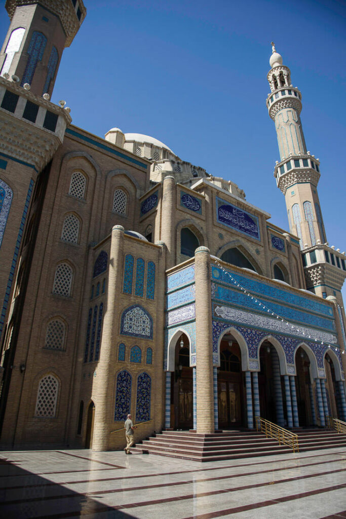 Jalil Khayat mosque Erbil