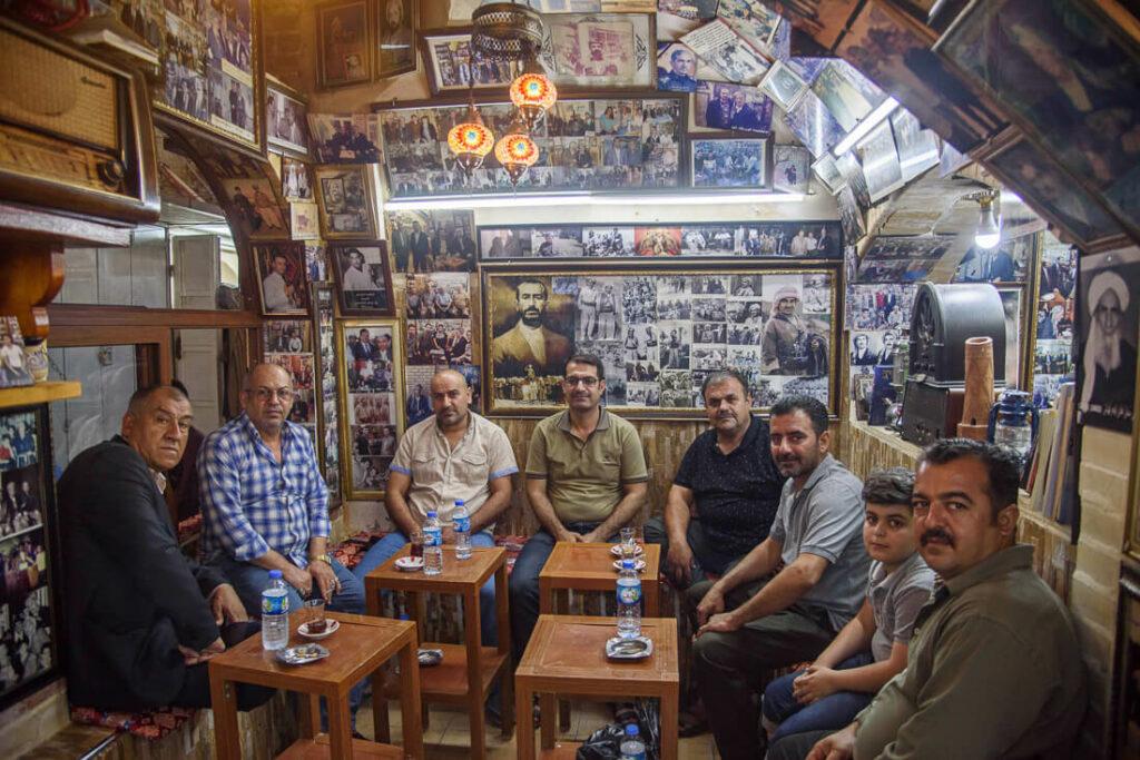 Mam Khalil teahouse Erbil